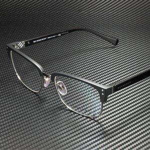 Burberry Men's Matte Black Eyeglasses 54mm